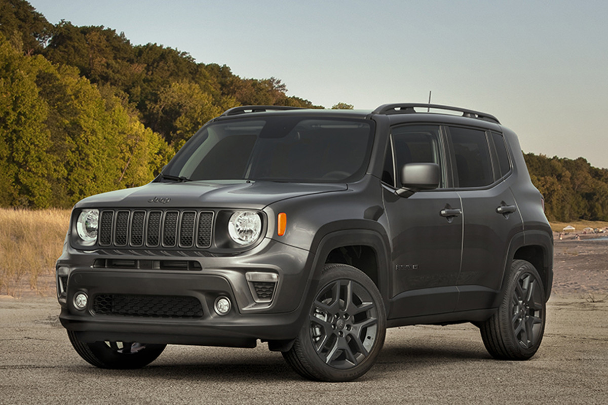Jeep Renegade, la serie dell'80 °anniversario